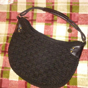 Sak Original Crochet Black  Purses